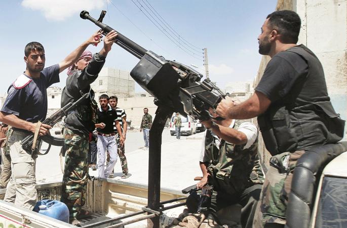 الاستخبارات الروسية: الغرب أنفق المليارات على دعم المعارضة المسلحة في سوريا