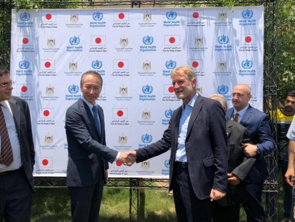 منظمة الصحة العالمية توفّر الطاقة الشمسية لقطاع الصحة في غزة