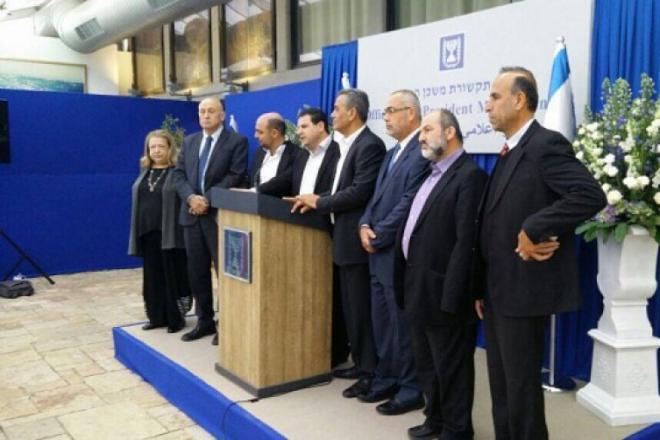 يديعوت: النواب العرب نسقوا مع أبومازن