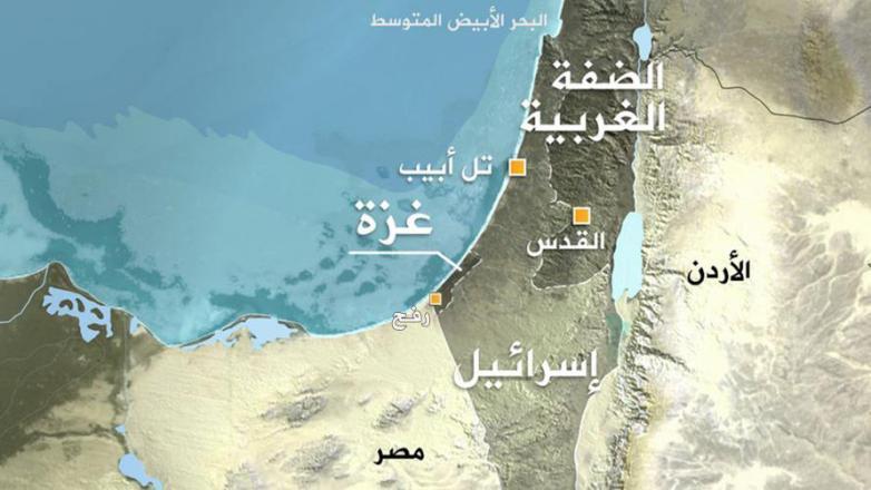 إسرائيل ترفض ربط قطاع غزة بالضفة الغربية