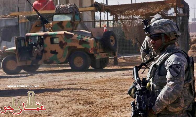 هجوم صاروخي على معسكر يوجد به جنود أمريكيون في العراق