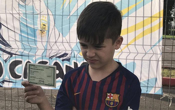 """""""ميسي الصغير"""" يخطف الأضواء في """"كوبا أميركا"""".. تعرف على قصته"""