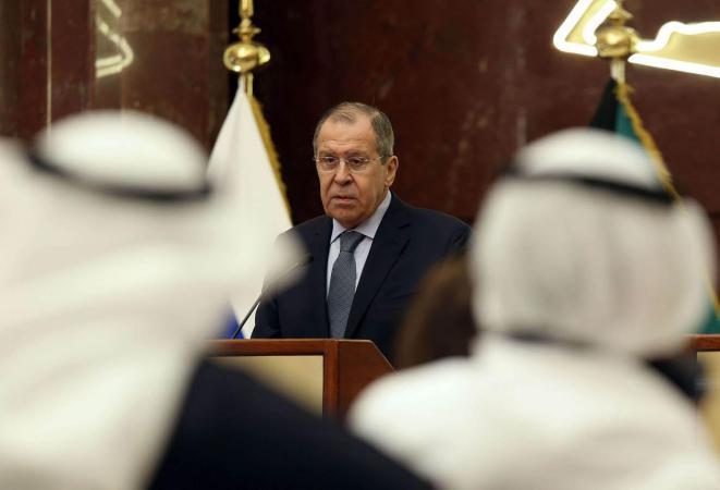 لافروف: بعض دول الخليج مستعدة للعمل مع مفهوم روسيا لتوفير الأمن في المنطقة
