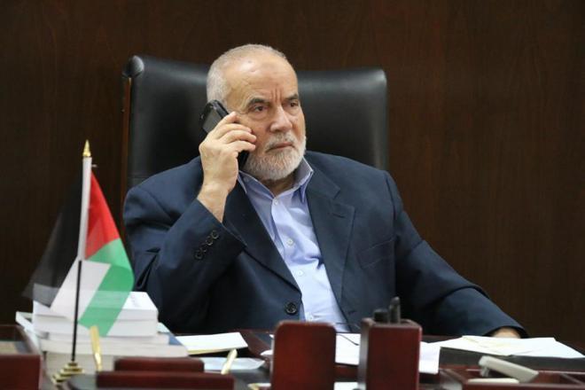 أحمد بحر يدعو منظمة التحرير لسحب اعترافها بالاحتلال