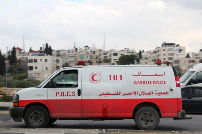 اصابة طفلة بجروح خطيرة في خانيونس