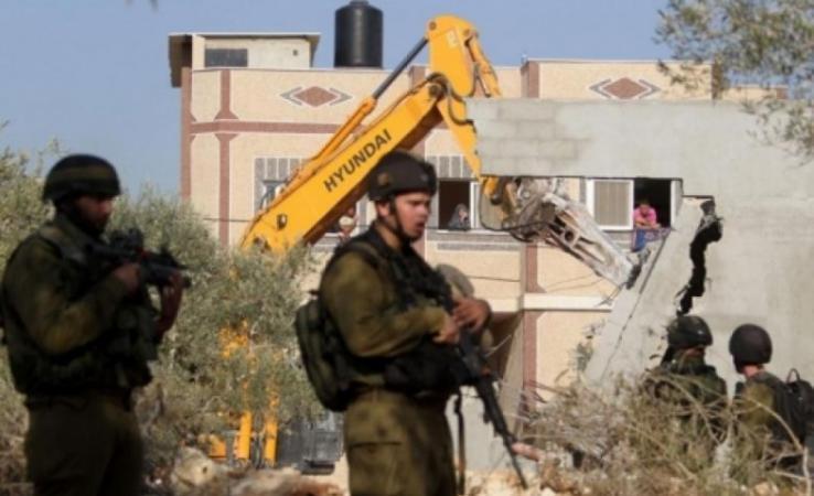 الخارجية: إسرائيل تستهدف الوجود الفلسطيني بعمليات الهدم
