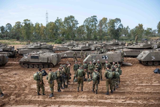 جيش الاحتلال: مُستعدون لدخول قطاع غزة