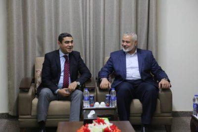 لقاء ثان بين قيادة حماس ووفد المخابرات المصرية في غزة