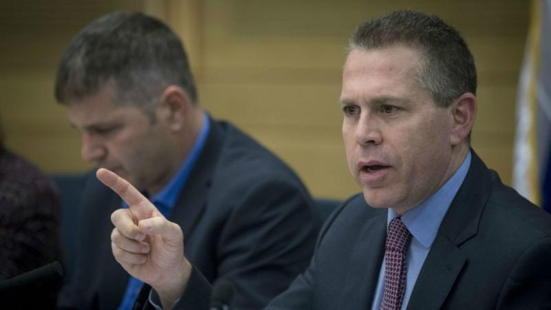 جلعاد إردان يهدد بتوجيه ضربة غير مسبوقة لغزة