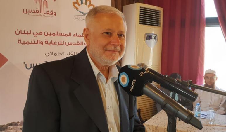 """صالح: """"صفقة القرن"""" تقوم على 5 أركان أبرزها تحالف عربي إسرائيلي"""