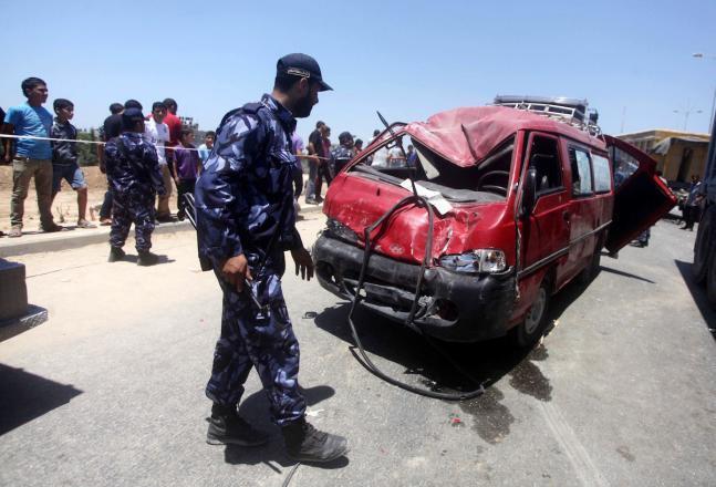 منذ بداية العام.. 32 قتيلًا جراء حوادث سير بغزة
