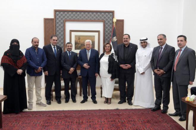 الوفد الكويتي المكلف بالتعاقد مع المعلمين الفلسطينيين يصل قطاع غزة
