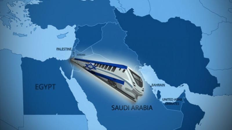 الكشف عن عرض جديد لربط دول الخليج والأردن بشبكة سكك حديد إسرائيلية