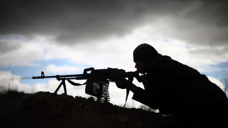 جيش الاحتلال يحذر عمال الجدار من عمليات قنص على حدود غزة