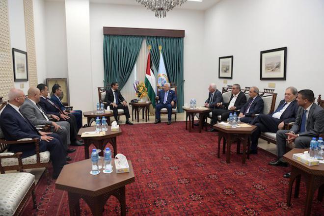 الرئيس عباس يعبر عن شكره وتقديره للقيادة المصرية لدعمها لفلسطين