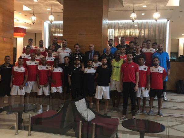 المنتخب الوطني يلاقي اليمن غدا بانطلاق مشواره في بطولة غرب آسيا