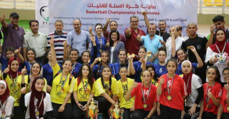 أكاديمية النجوم تتوج بكأس كرة السلة للفتيات على حساب الرياضي