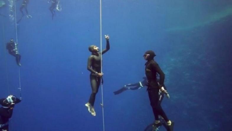 بطل السعودية في الغوص يموت غرقاً !