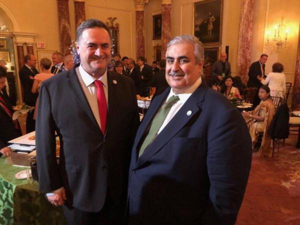 اجتماع علني بين وزير خارجية الاحتلال ونظيره البحريني في واشنطن