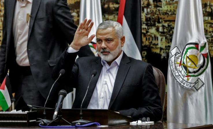 هنية: حركة حماس لا تعارض مرحلياً قيام دولة فلسطينية على حدود 67