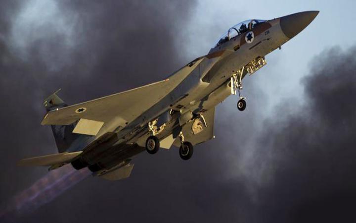 قصف إسرائيلي على قطاع غزة الأن