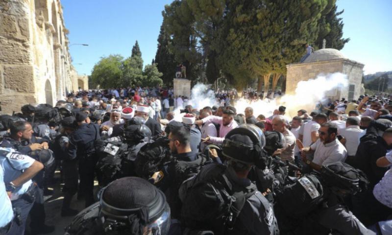 الجبهة الشعبية: ما يجري بالأقصى شرارة لانفجار شامل بوجه الاحتلال الإسرائيلي