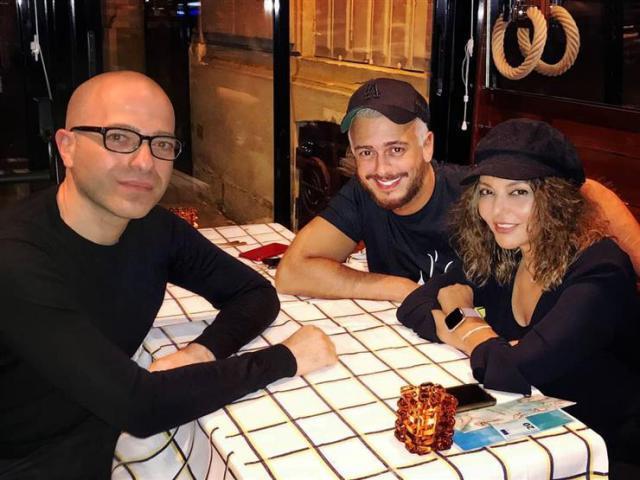 وجبة عشاء تجمع سميرة سعيد وسعد لمجرد فى باريس