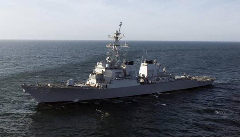 """المدمرة الأمريكية """"بورتر"""" تحت المراقبة الروسية في البحر الأسود"""