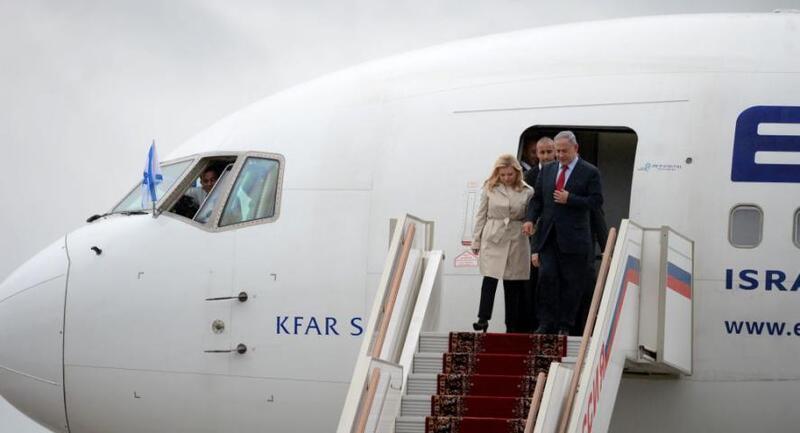 شاهد.. سارة نتنياهو تثير فضيحة أثناء زيارتها لأوكرانيا