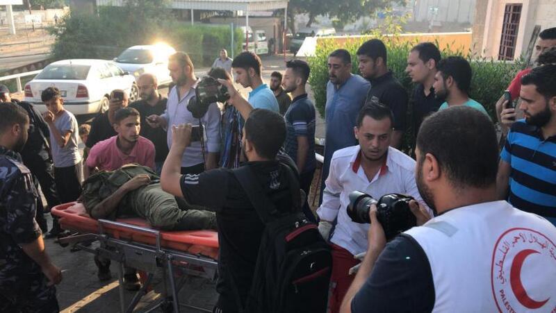 وصول 3 شهداء إلى المستشفى الاندونيسي