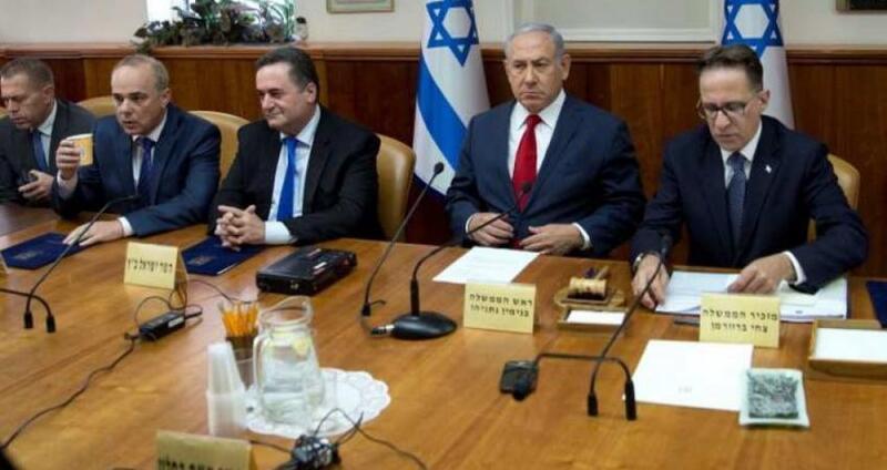 الكابينت الإسرائيلي يقر خططا لمهاجمة حركة حماس في غزة