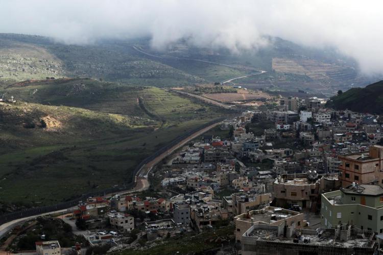 إسرائيل تغلق المجال الجوي في الجولان المحتل