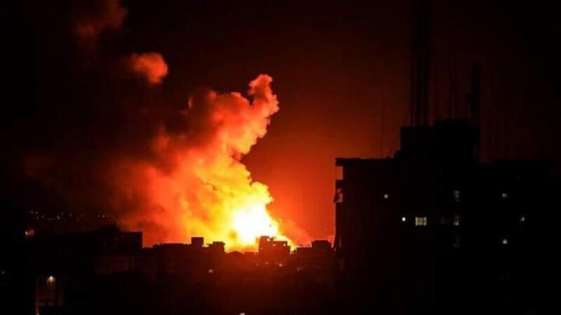 الاحتلال الإسرائيلي يستهدف مواقع للجبهة الشعبية شرقي لبنان