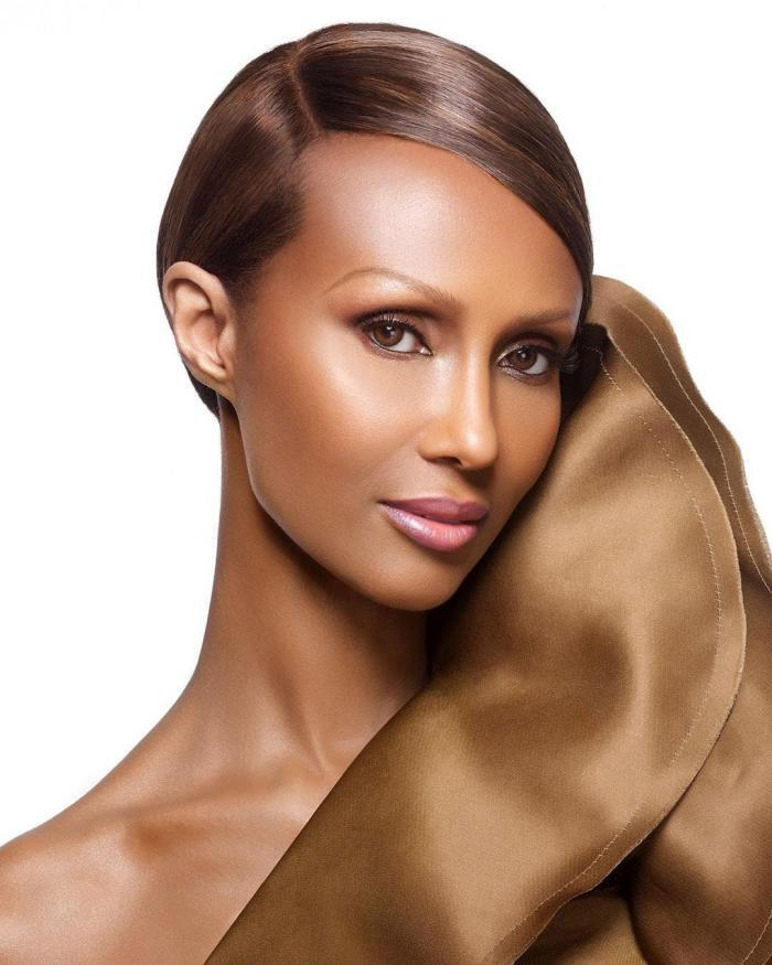 العارضة الصومالية إيمان