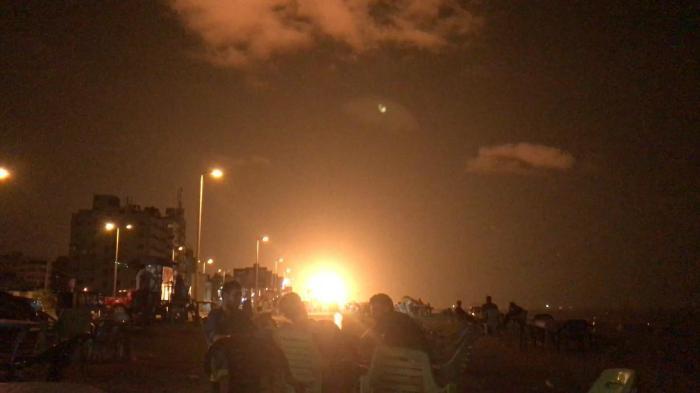 جيش الاحتلال الإسرائيلي يصدر بيانا حول قصف غزة