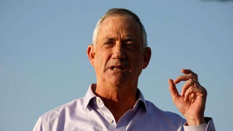 غانتس: أتعهد بعدم عقد صفقات سياسية مع حركة حماس