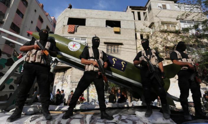 جيش الاحتلال: إطلاق 5 صواريخ من غزة على مستوطنات الغلاف