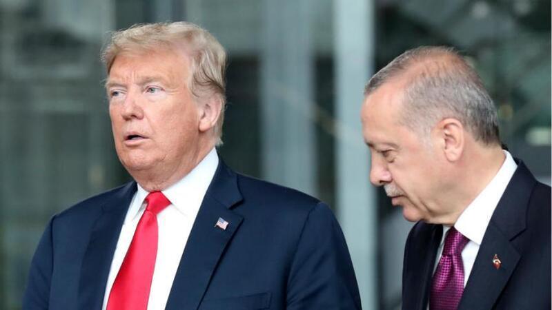 ترامب يكشف تطورات شمال سوريا ويتحدث عن علاقته بأردوغان