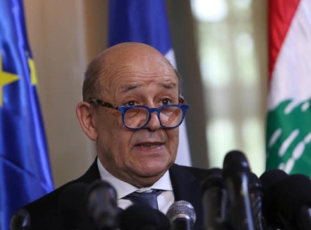 """وزير الخارجية الفرنسي يحذر من """"زوال"""" لبنان"""