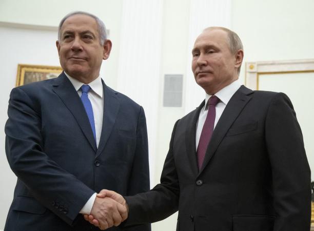 الرئيس بوتين ونتنياهو يبحثان الاتفاق الإماراتي الإسرائيلي