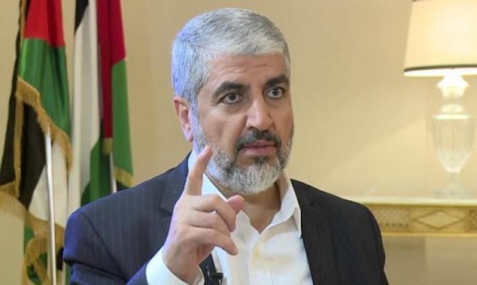 أول تعليق من مشعل على اتفاق التطبيع بين تل أبيب وأبو ظبي