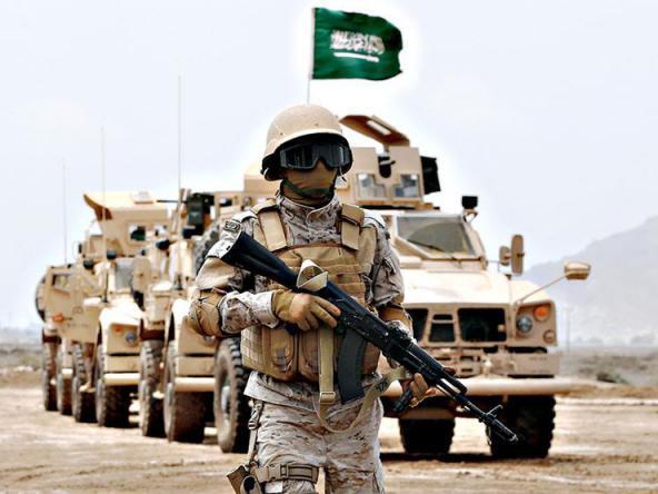 قوات سعودية تصل قاعدة الشدادي شمال شرق سوريا