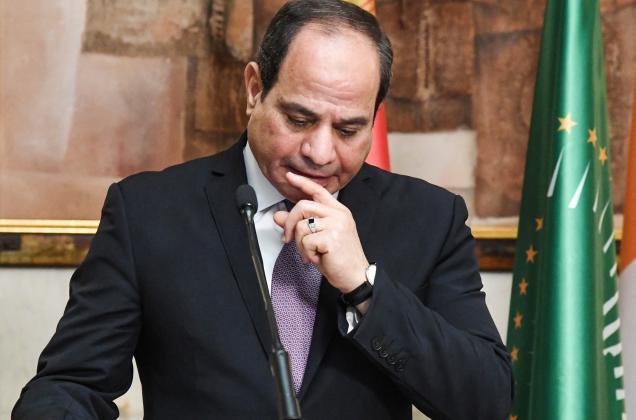 السيسي يهنئ ولي عهد أبو ظبي على خطوة السلام التاريخية التي قامت بها الإمارات