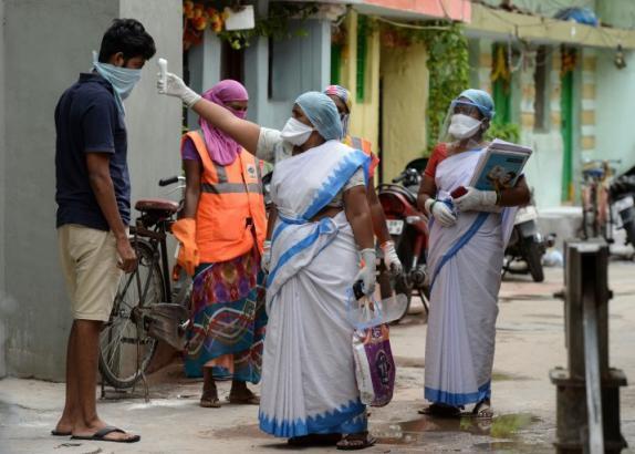 الهند تسجل أعلى حصيلة يومية للإصابات بكورونا منذ تفشي الفيروس
