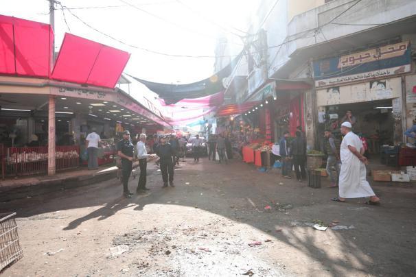 شرطة غزة: وفاة مواطن في سوق دير البلح