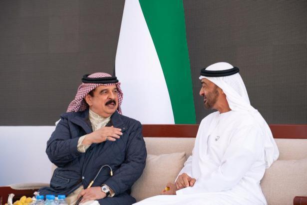 ملك البحرين لمحمد بن زايد: الاتفاق يعزز فرص السلام بين فلسطين و إسرائيل