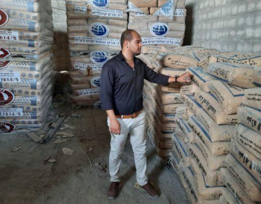 الاقتصاد بغزة ينفذ جولات ميدانية على مخازن الأسمنت ومواد البناء