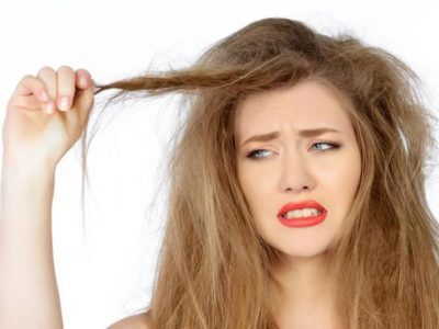 مشاكل الشعر المتقصف والضعيف