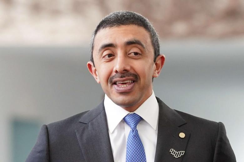 عبد الله بن زايد يوجه رسالة مهمة للجالية الفلسطينية في الامارات (فيديو)