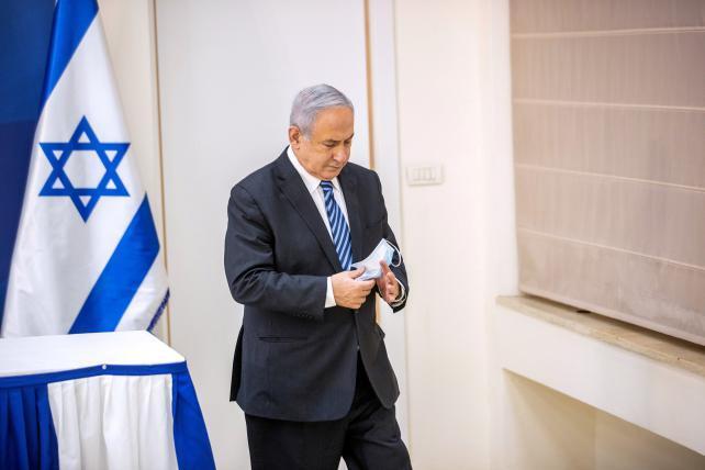 """الإعلام العبري: نتنياهو يغادر جلسة الحكومة لـ""""ضرورة وطنية"""""""